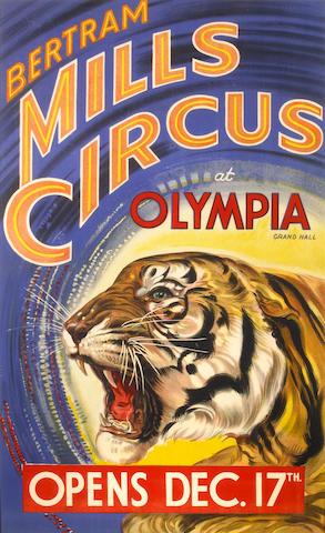 Artist Unknown; (20th century) Bertram Mills Circus;
