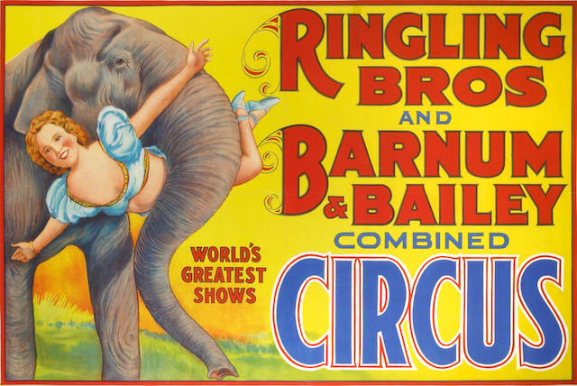 Artist Unknown; (20th century) Ringling Bros and Barnum & Bailey Combined Circus;