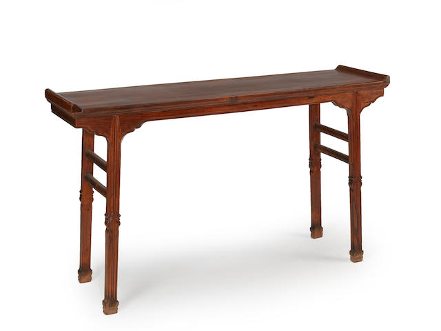 A huanghuali altar table Late 20th century
