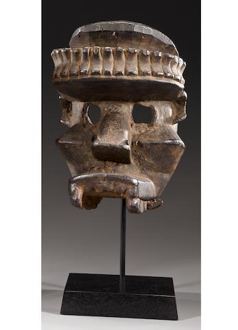 Dan/Guere Mask, Liberia/Ivory Coast