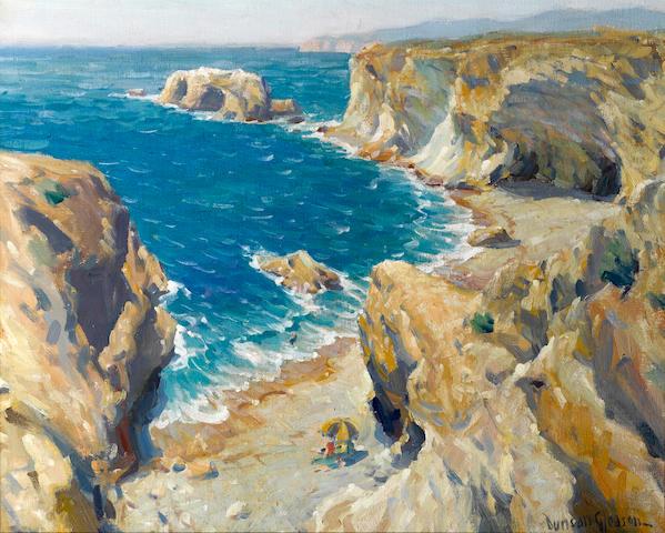 Duncan Gleason (1881-1959) Pismo Beach 16 x 20in
