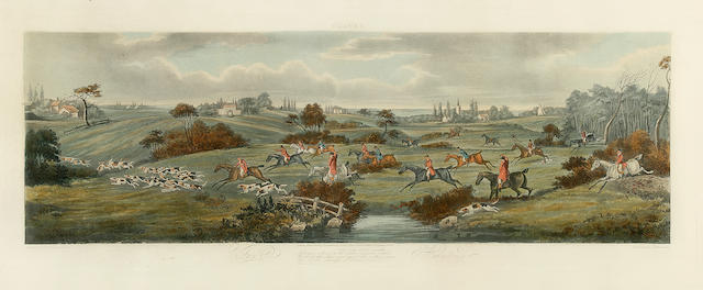Horses- Wolstenholme set of 4 of the Hunt