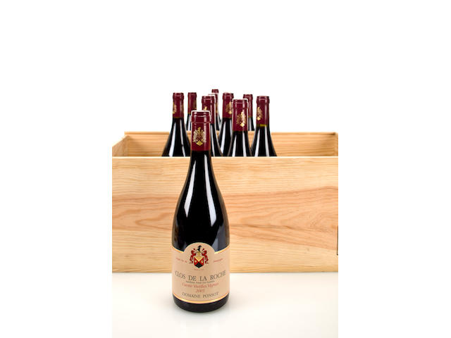 Clos de la Roche, Cuvee Vieilles Vignes 2005 (12)