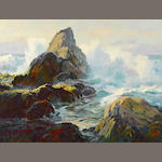 Albert de Rome, Rocky Shore, Dutton's Point