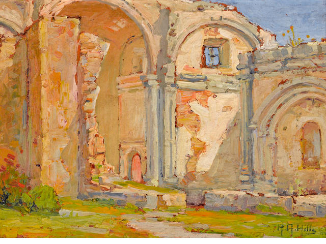 Anna Althea, Hills, Mission San Juan Capistrano