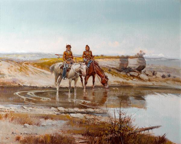 William S. Seltzer, Navajo Riders