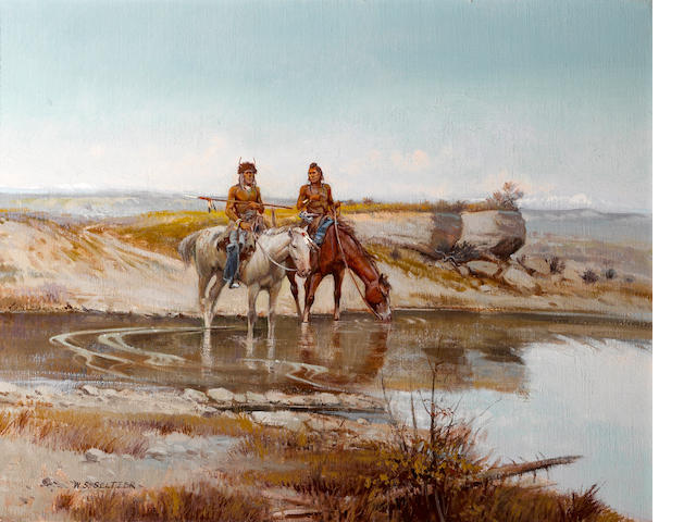 William S. Seltzer, Navajo Riders