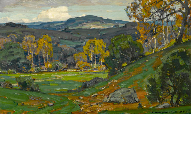William Wendt, San Juan Capistrano, Hot Springs