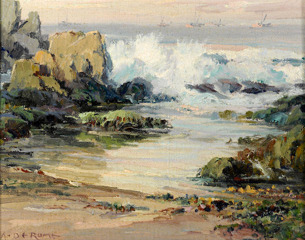 Albert de Rome, Late Afternoon, Incoming Tide