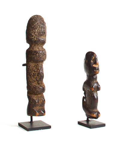 Two Dogon Fetish Figures, Mali