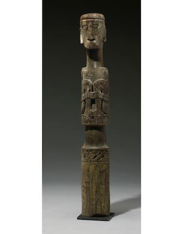 Ngaju Dayak Ancestral Guardian Figure, Central Kalimantan, Borneo Island
