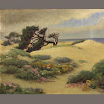 William Adam, Beach view, oil