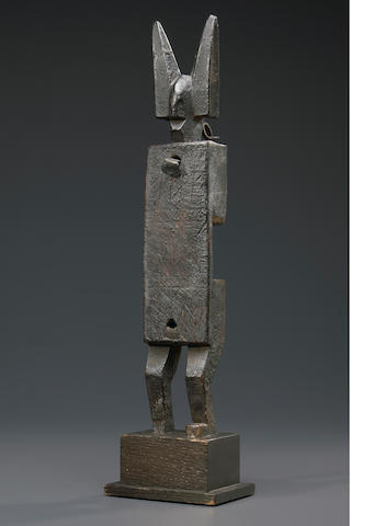 Bamana Anthropomorphic Doorlock, Mali
