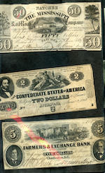 Folder of Miscellaneous Banknotes