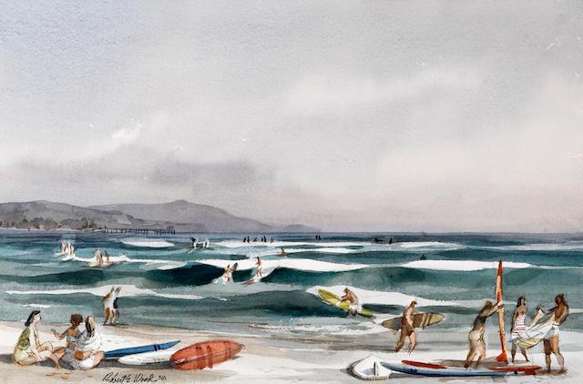 Robert E. Wood, Dana Point