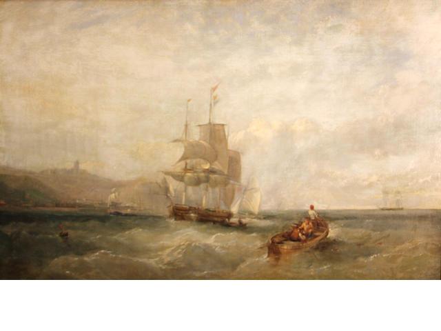 J.W. Carmichael, oil on canvas