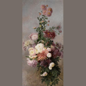 Alice B. Chittenden, Sprigs of Chrysanthemums