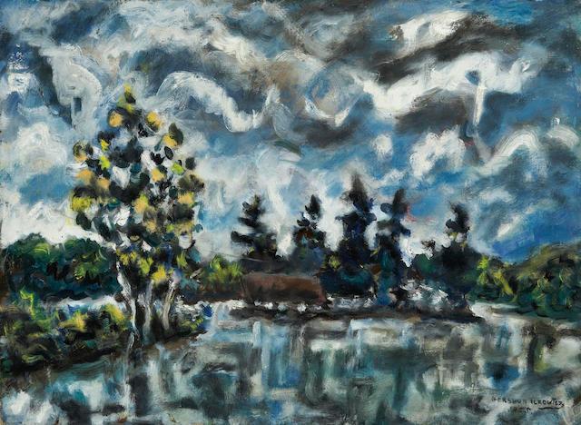Gershon Iskowitz, CSGA RCA (Canadian, 1921-1988) McKellar Island