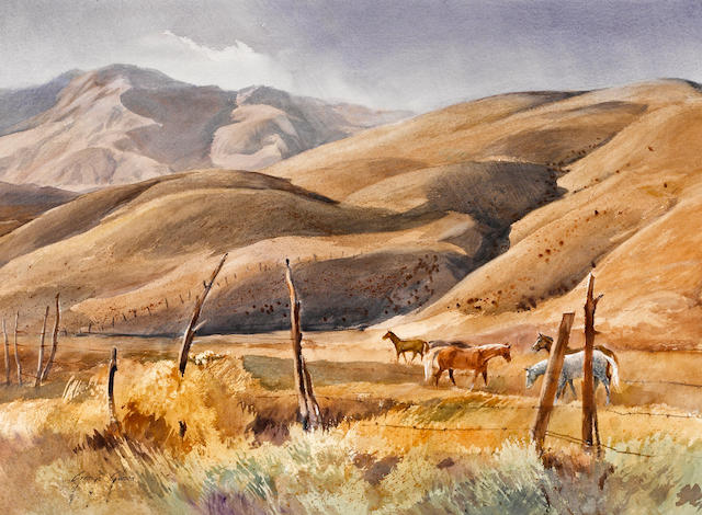 George Gibson, Vanishing Pastures