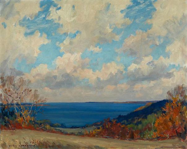 Manly Edward MacDonald, RCA, OSA (Canadian, 1889-1971) Bay of Quinte at Glenora