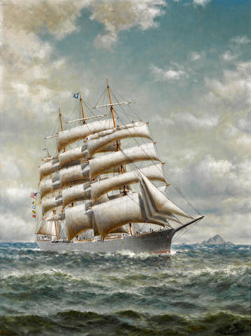 "ON INSPECTION: William Coulter, Four Masted Bark ""Edward Sewall"""