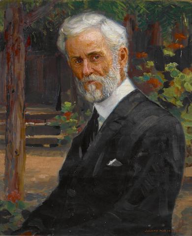 Joseph Kleitsch (1882-1931) Portrait of Isaac Jenkinson Frazee 30 x 24in