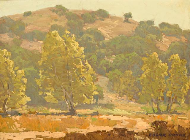 Edgar Payne (1883-1947) Laguna Canyon 12 x 16in