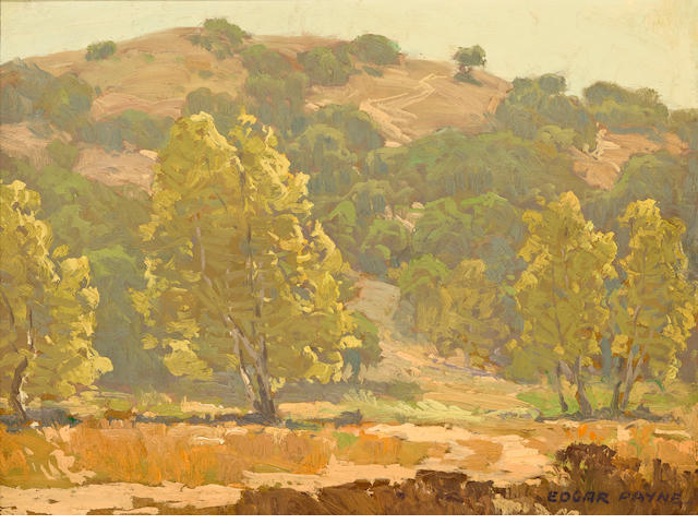 Edgar Payne (1883-1947) Laguna Canyon 12 x 16in