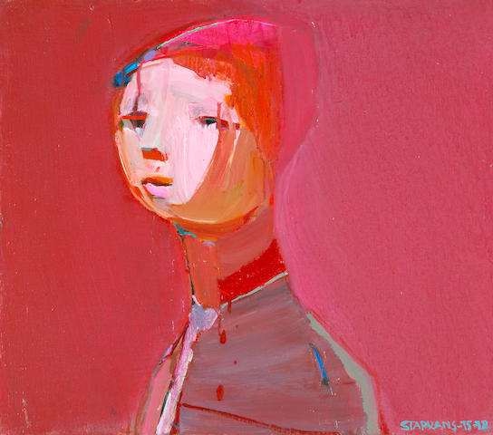 Raimonds Staprans (Latvian/American, born 1926) Untitled, 1975-78 22 x 25in