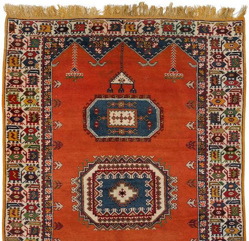 A Morroccan rug