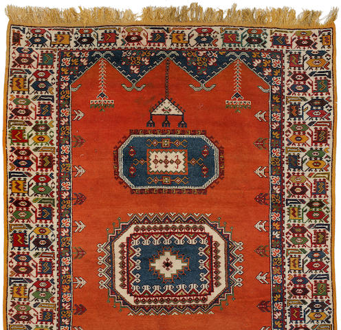 A wool rug