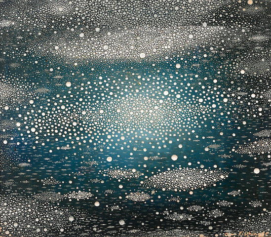 Oskar Fischinger (German/American, 1900-1967) Untitled, 1955 10 x 12in
