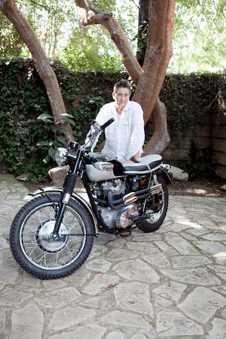 The property of K.D. Lang,Triumph TR6 Custom