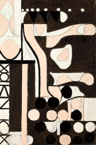 Otto Karl Knaths (American, 1891-1971) Composition No. 1, 1945 30 x 20in unframed