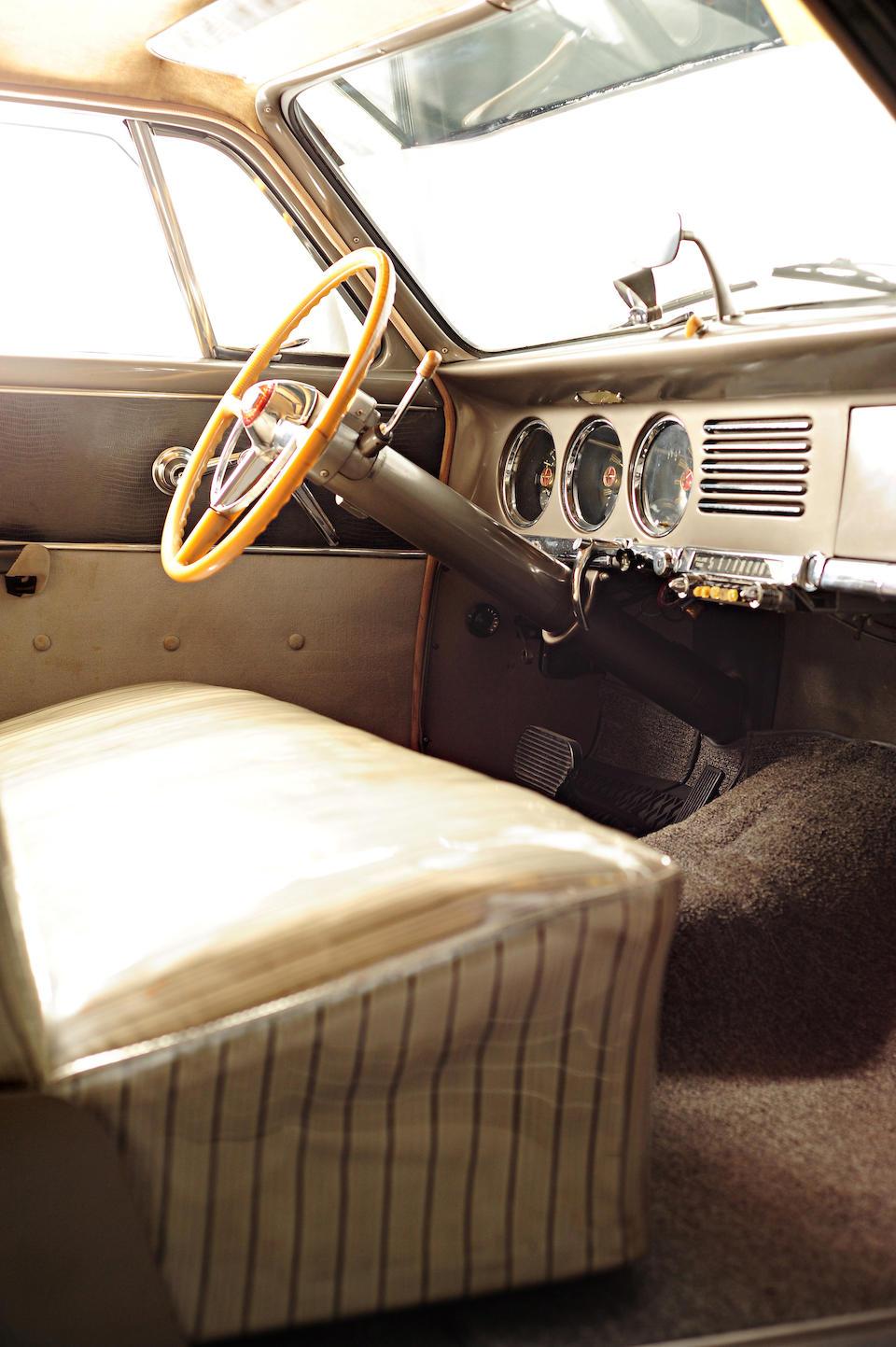 1951 Studebaker Land Cruiser Sedan  Chassis no. 8135387