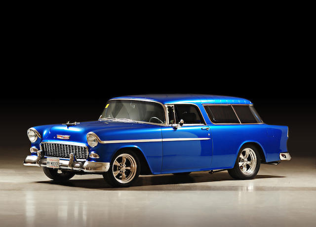 1955 Chevrolet Bel Air Nomad Resto-Rod  Chassis no. VC55A054570