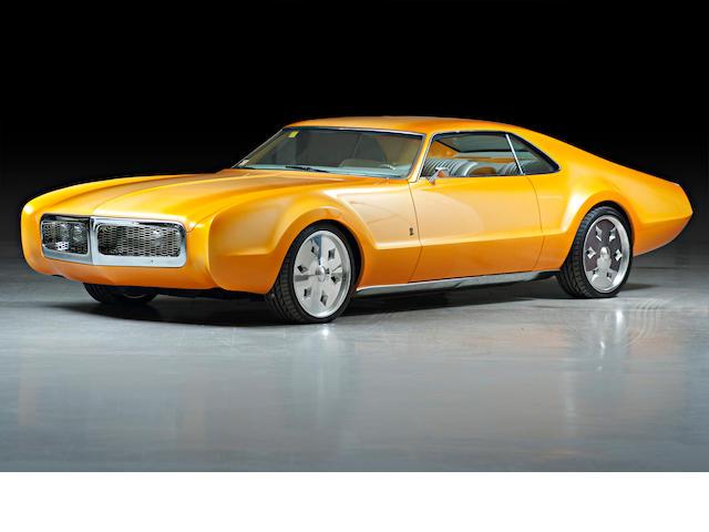 1968 Oldsmobile Toronado - Rick Dore  Chassis no. 394878M613215
