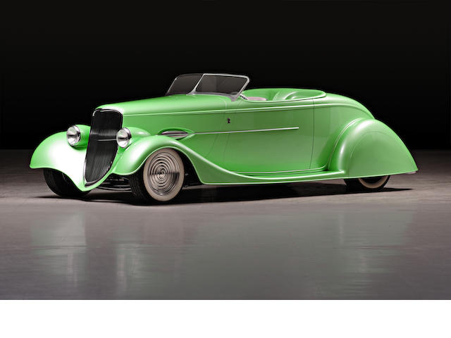 "1934 Ford Model 40 Custom Roadster Hotrod ""Flashback""  Chassis no. 181204495"