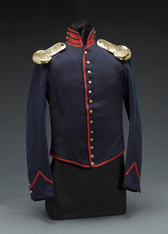 A Civil War era artillery enlistedman's shell jacket