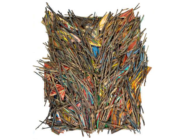 Charles A. Arnoldi (American, born 1946) Untitled, 1985 94 x 86 x 9in