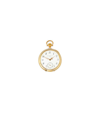 PP dress watch, enamel