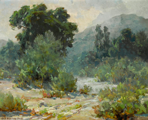 Jack Wilkinson Smith (American, 1873-1949) Big Tujunga 16 x 20in