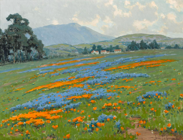 John Marshall Gamble (American, 1863-1957) Mount Tamalpais near San Francisco 18 1/4 x 24 1/4in