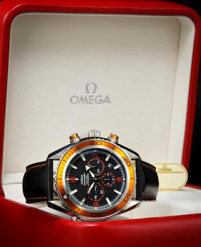 An Omega Seamaster