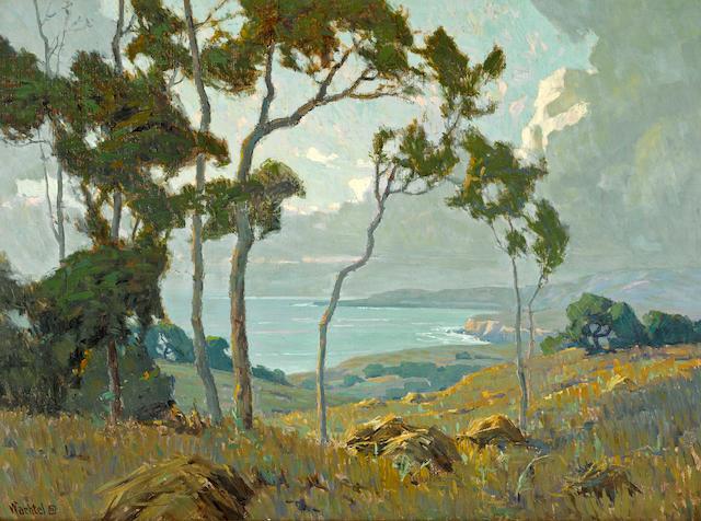 Elmer Wachtel (American, 1864-1929) Montecito 22 x 30in