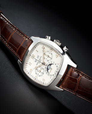 Patek Philippe ref. 5020 with box, cert, extra dial and strap
