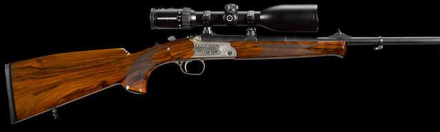 A .270 Weatherby Magnum Merkel K1 Jagd lightweight stalking rifle