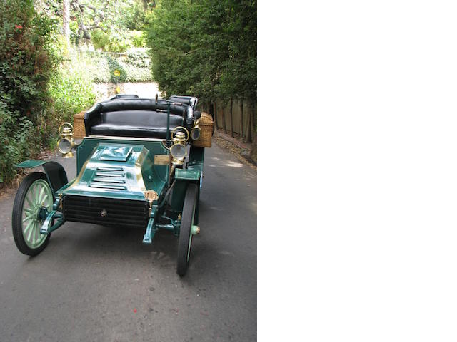 1902 Autocar Type 8 Rear-Entrance Tonneau  Chassis no. 776