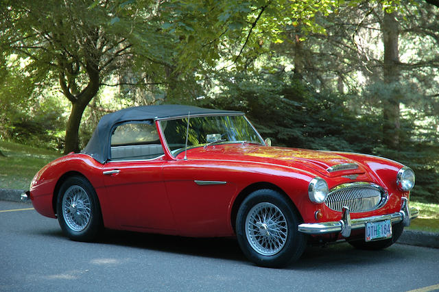 1961 Austin-Healey 3000 BT7 Mk II  Chassis no. H-BT7-L/15724 Engine no. 29E-RU-H2013