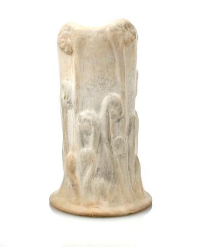 A Tiffany Studios Favrile pottery Fern vase  circa 1905